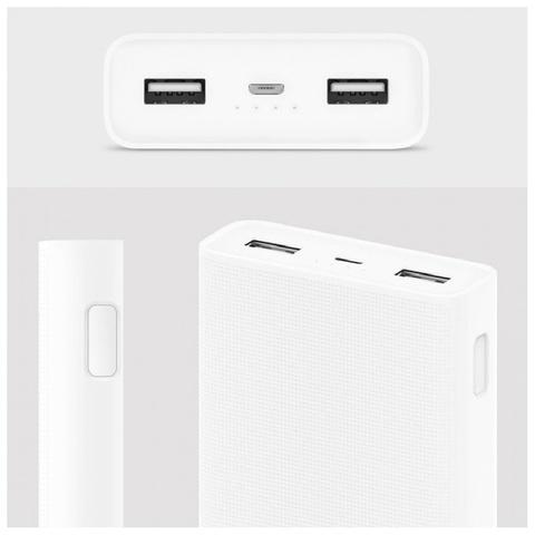 Внешний аккумулятор Xiaomi Mi Power Bank 2C (20000 mAh) Оригинал
