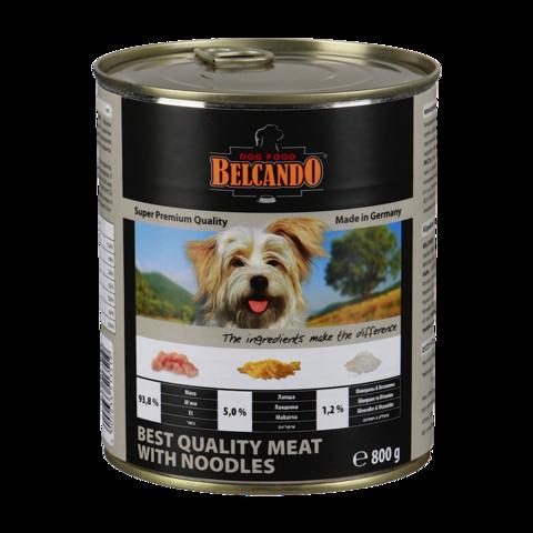 Belcando Quality Meat with Noodles Консервы для собак с мясом и лапшой