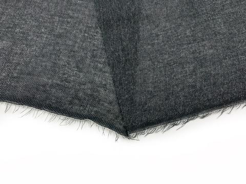 Дублерин черный с клеевым покрытием (метражом)