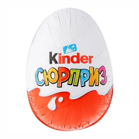 Яйцо шоколадное KINDER Сюрприз Т36 стандарт ПОЛЬША