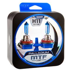 Галогенные лампы MTF Light PALLADIUM H11 55W