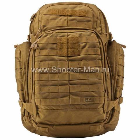 Тактический рюкзак 5.11 RUSH 72 BACKPACK, цвет FLAT DARK EARTH фото