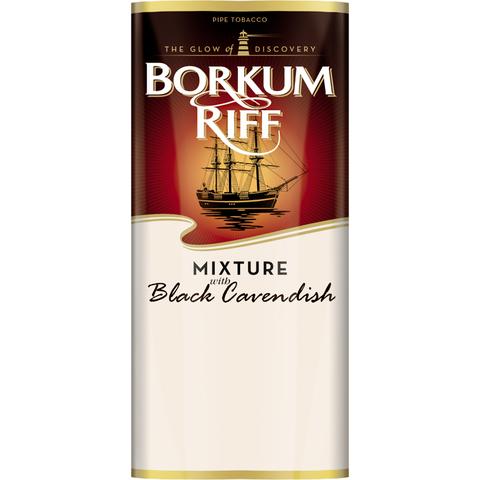 Трубочный табак Borkum Riff Mixture with Black Cavendish