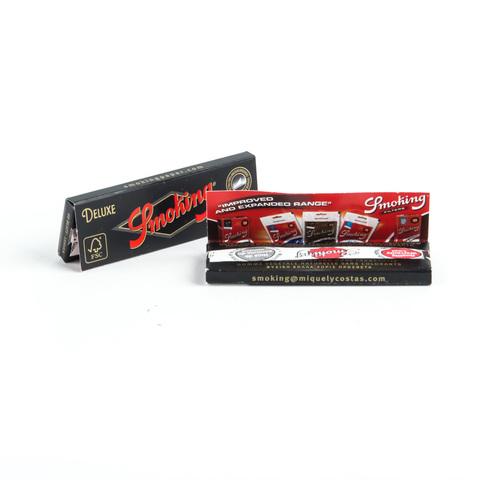 Бумага для самокруток SMOKING REGULAR DELUXE 60 шт