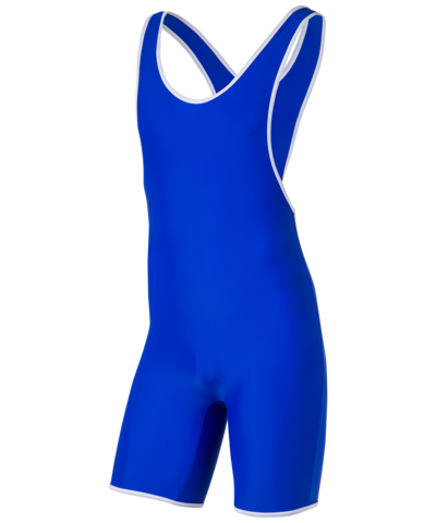 Трико борцовское 9917, 30-42, синий