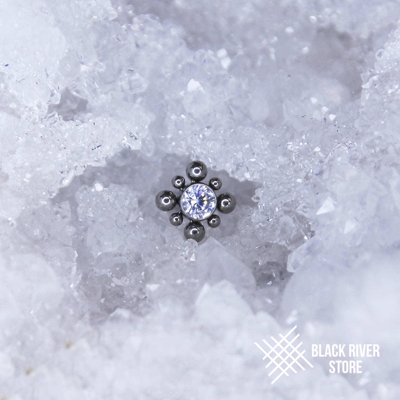 Bead Rhombic Star Crystal