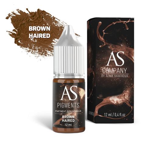 Пигмент для бровей AS Brown haired (Шатен), 12 мл