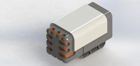 LEGO Education Mindstorms: Звуковой датчик 9845 — Sound Sensor — Лего Образование Эдьюкейшн
