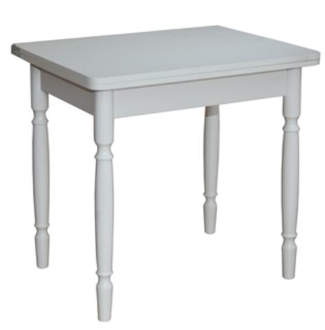 Стол обеденный ЛС-831 раскладной белый