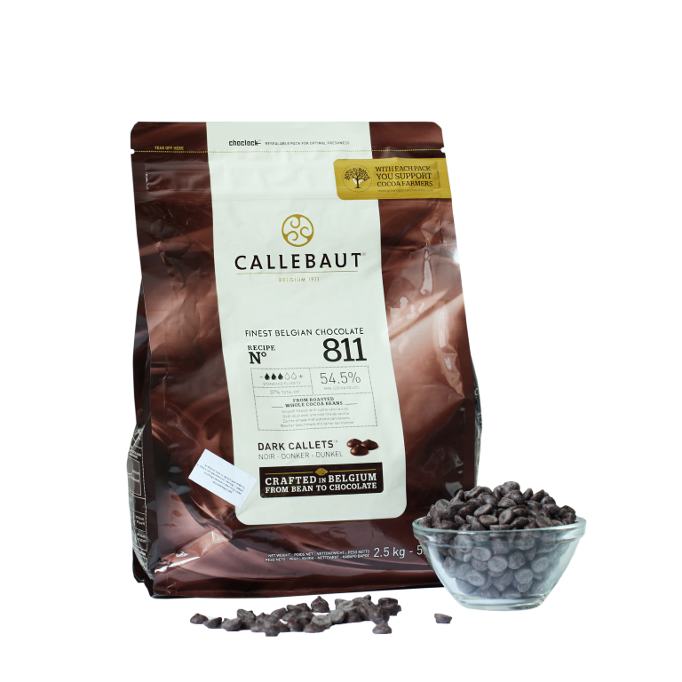 Тёмный шоколад Barry Callebaut 54,5%, Бельгия, 100г.
