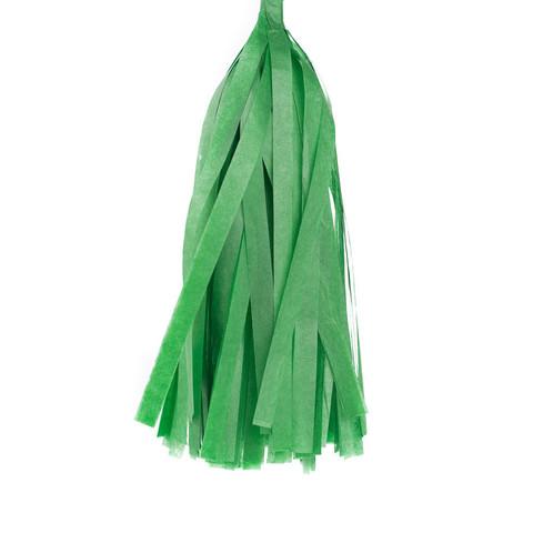 Гирлянда Тассел, зеленая