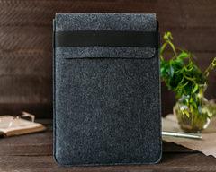 Темный войлочный чехол Gmakin для Macbook