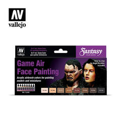 Game Air Set: Face Painting By A.Giraldez