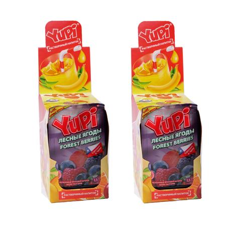 Растворимый напиток YUPI Лесные ягоды 1кор*6бл*24шт 15 гр.