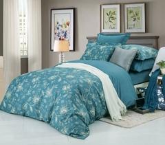 Сатиновое постельное бельё  1,5 спальное Сайлид  В-180