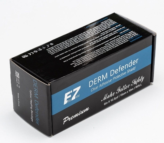 Восстанавливающая пленка EZ PREMIUM  Derm Defender Tattoo  Рулон 15см*10м