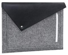 Черный фетровый чехол-конверт Gmakin