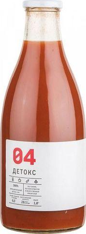 Сок Детокс -04 б/сах 0,33л сельдерей/томат/огурец/чеснок/лимон/перец