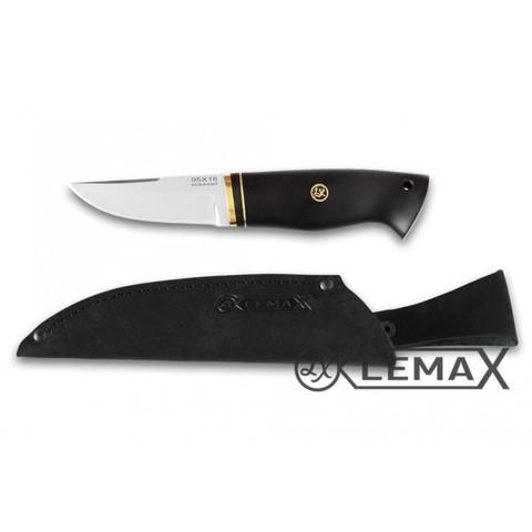 Нож Засапожный малый 95Х18, чёрный граб