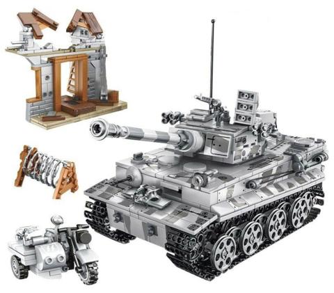 Конструктор Танки Второй Мировой войны Немецкий танк Тигр