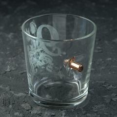 Стакан Непробиваемый. 9 мая Тюльпан, с пулей, для виски, 250 мл, фото 2