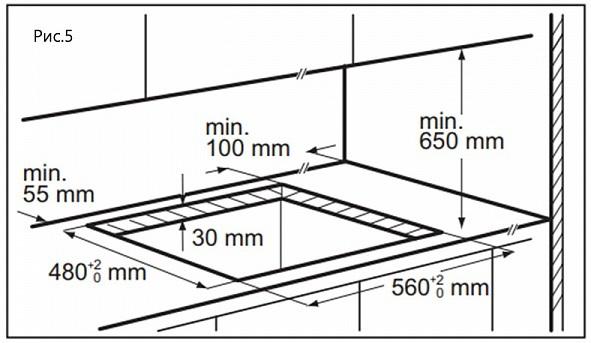 Газовая варочная панель Maunfeld EGHG.64.23CBG/G