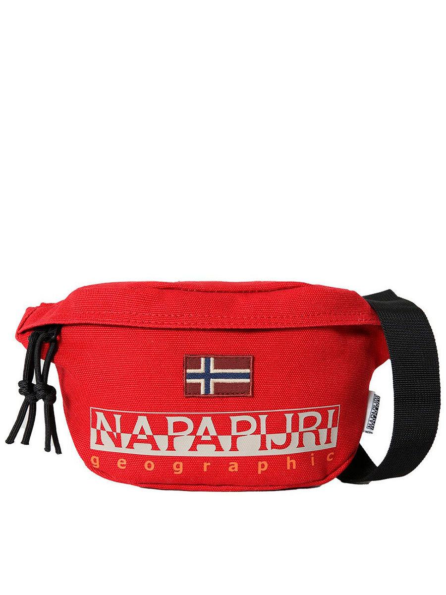 Napapijri сумка поясная Hering Wb 2 красный