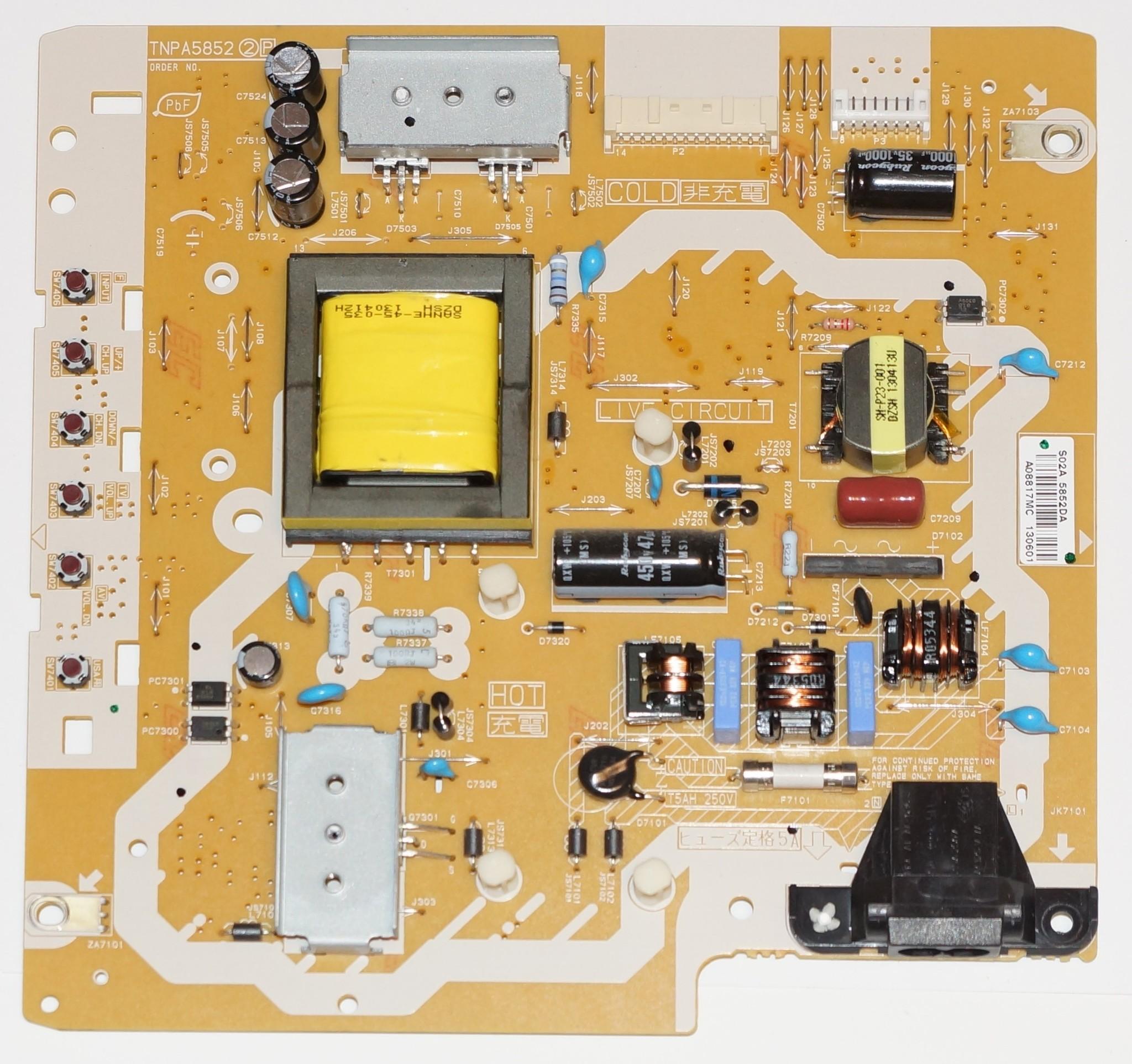 TNPA5852 2P mainboard телевизора Panasonic
