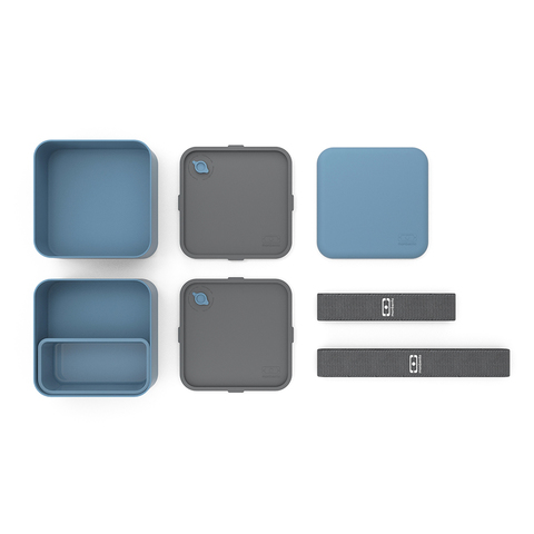 Ланчбокс Monbento Square (1,7 литра), синий