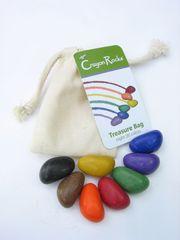 Мелки-камушки восковые, 8 штук (Crayon Rocks)