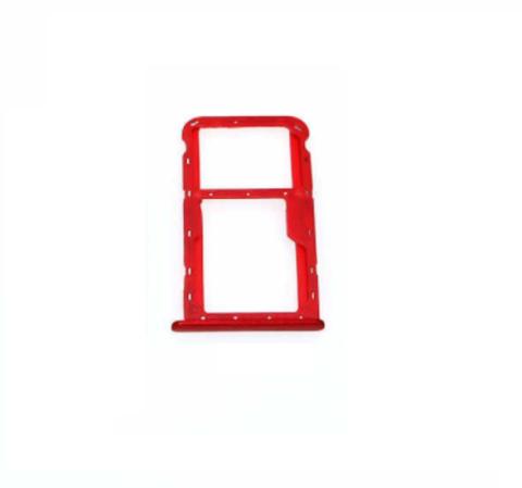 SIM CARD HOLDER Huawei Honor 7X Red MOQ:20