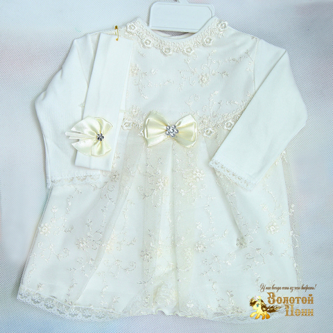 Платье+повязка (56-86) 30НБ.17-31
