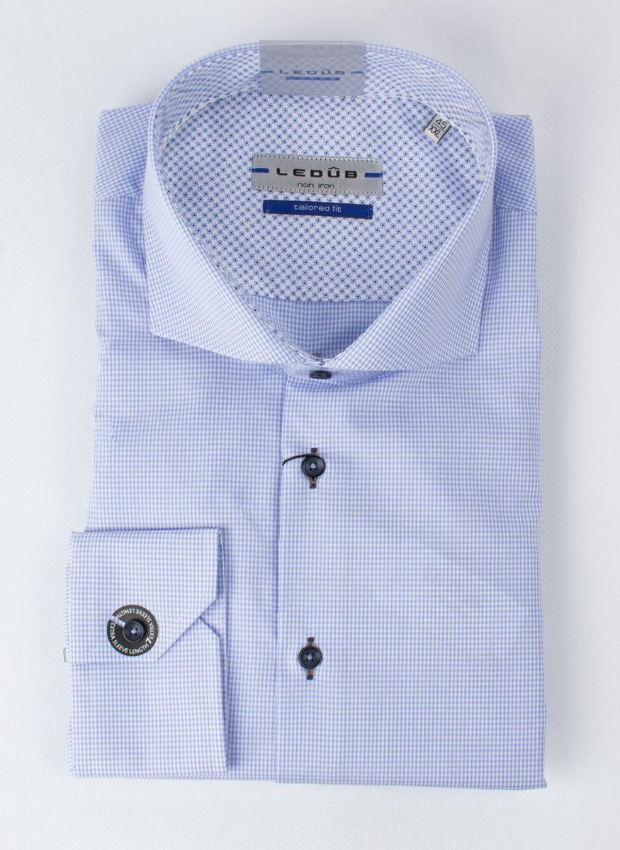 Рубашка Ledub tailored fit 0136428-130-140-130-TF-Blue