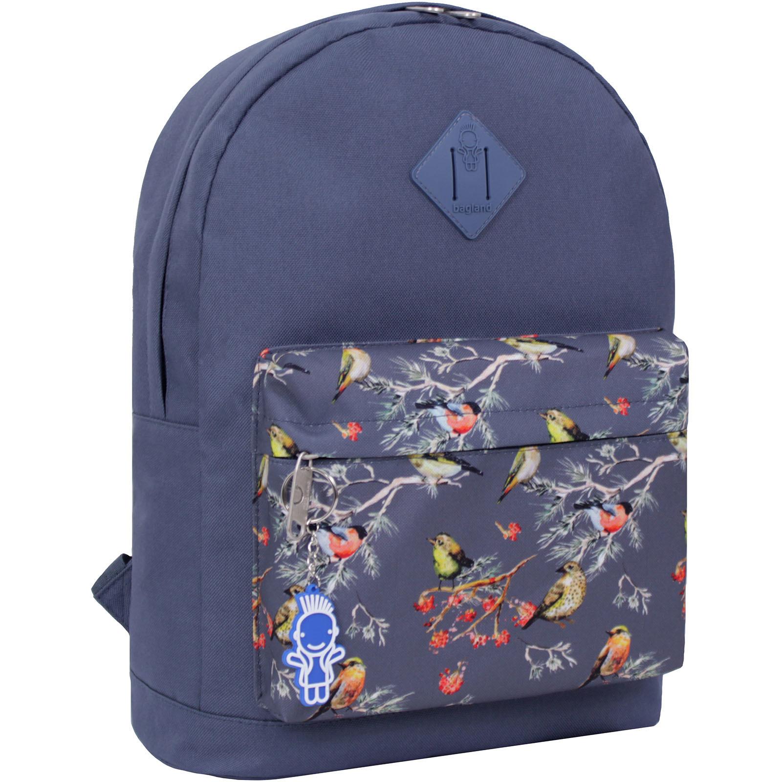 Городские рюкзаки Рюкзак Bagland Молодежный W/R 17 л. серый 445 (00533662) IMG_2206_суб.445_.JPG