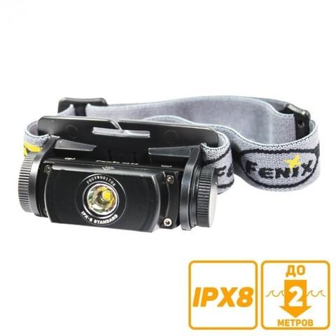 Фонарь светодиодный налобный Fenix HL55 XM-L2 U2 (900 лм, аккумулятор)