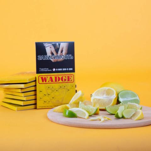 Табак Wadge Titanium Lemon Lime 100 г