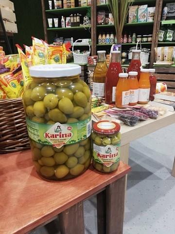 Оливки Aceitunas Gordal con hueso 2350г с кост Испания