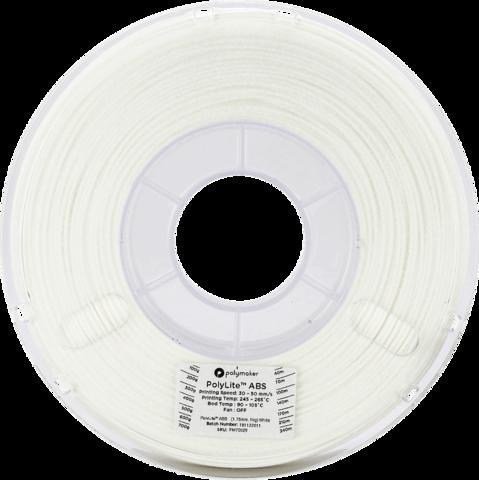 PolyMaker PolyLite ABS, 1.75 мм, 1 кг, Белый