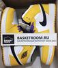 Air Jordan 1 Mid 'Lakers' (Фото в живую)