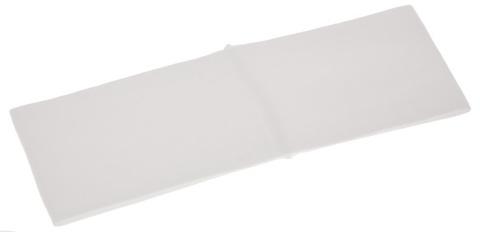 Лента ST TROPEZ для волос широкая белая