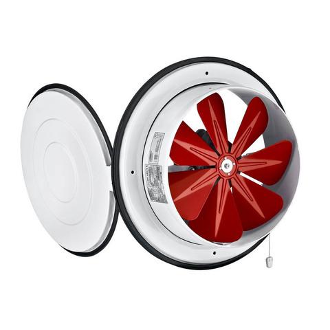 Осевой приточный оконный вентилятор Bahcivan BK 160