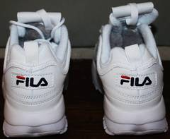 Кроссовки фила дизраптор Fila Disruptor 2 all white RN-91175