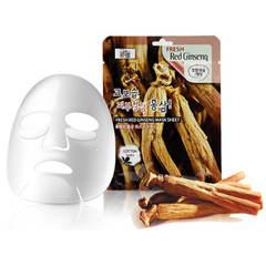 Тканевая маска для лица 3W Clinic с экстрактом красного женьшеня 23 мл