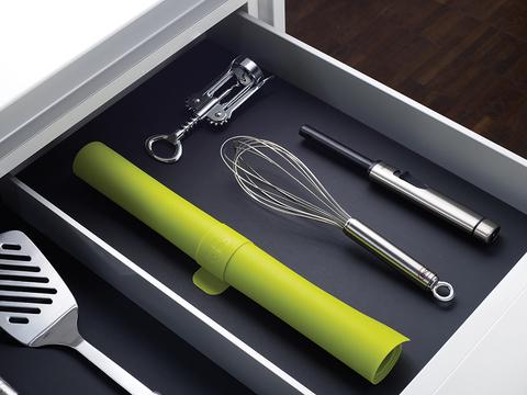 Коврик для теста с мерными делениями roll-up™ зеленый