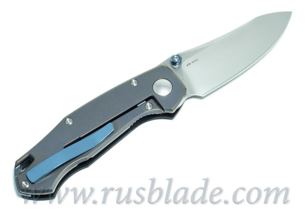 CKF MKAD Red Farko knife (M390, Ti, bearings) - фотография
