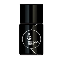 Формула Профи, Гель-лак ультра-чёрный 10 мл, арт.6871-бутылка