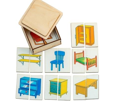Картинки-половинки Мебель, Smile Decor