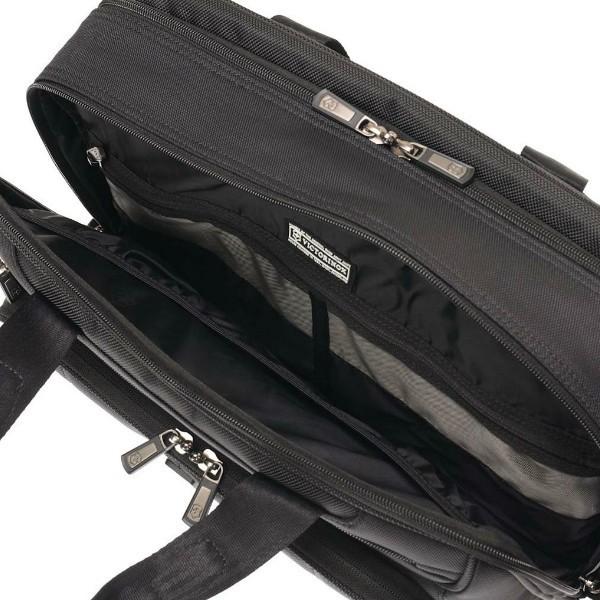 Сумка для ноутбука VICTORINOX VX One Laptop Folio 15,6', чёрная, нейлон 1000D/кожа, 42x14x31 см, 18 л (600616) | Wenger-Victorinox.Ru