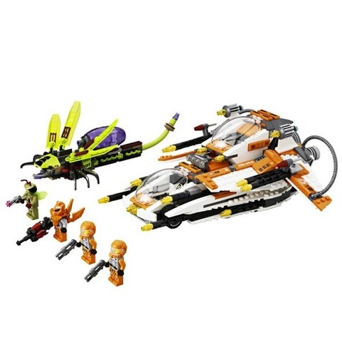 LEGO Galaxy Squad: Охотник за инсектоидами 70705 — Галактический отряд — LEGO Galaxy Squad: Bug Obliterator 70705