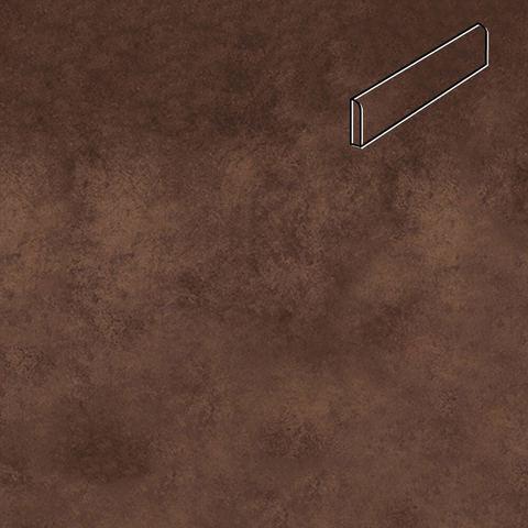 Interbau - Nature Art, Umbra braun/Кофейный 360x80x9,5, цвет 124 - Клинкерный плинтус